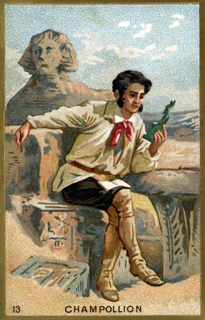 Portrait of Jean François (Jean-Francois) Champollion