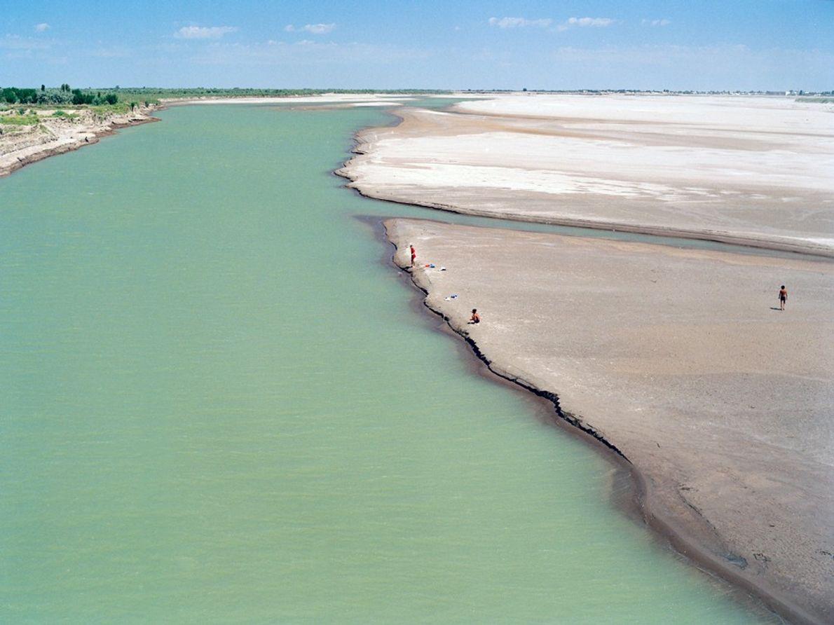 La mer d'Aral était autrefois la quatrième plus grande masse d'eau continentale au monde. Ses eaux ...