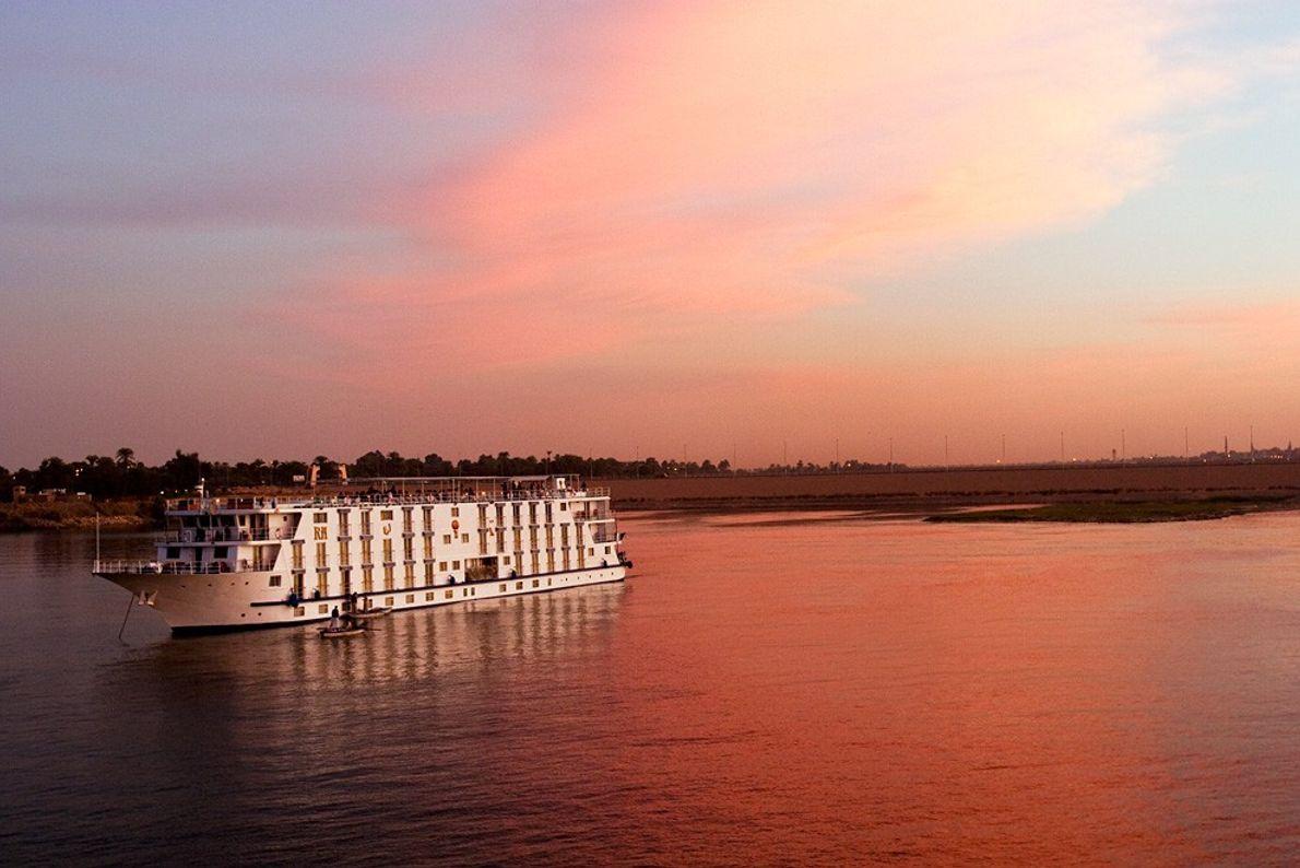 Couché de soleil, Le Nil - Le coucher du soleil