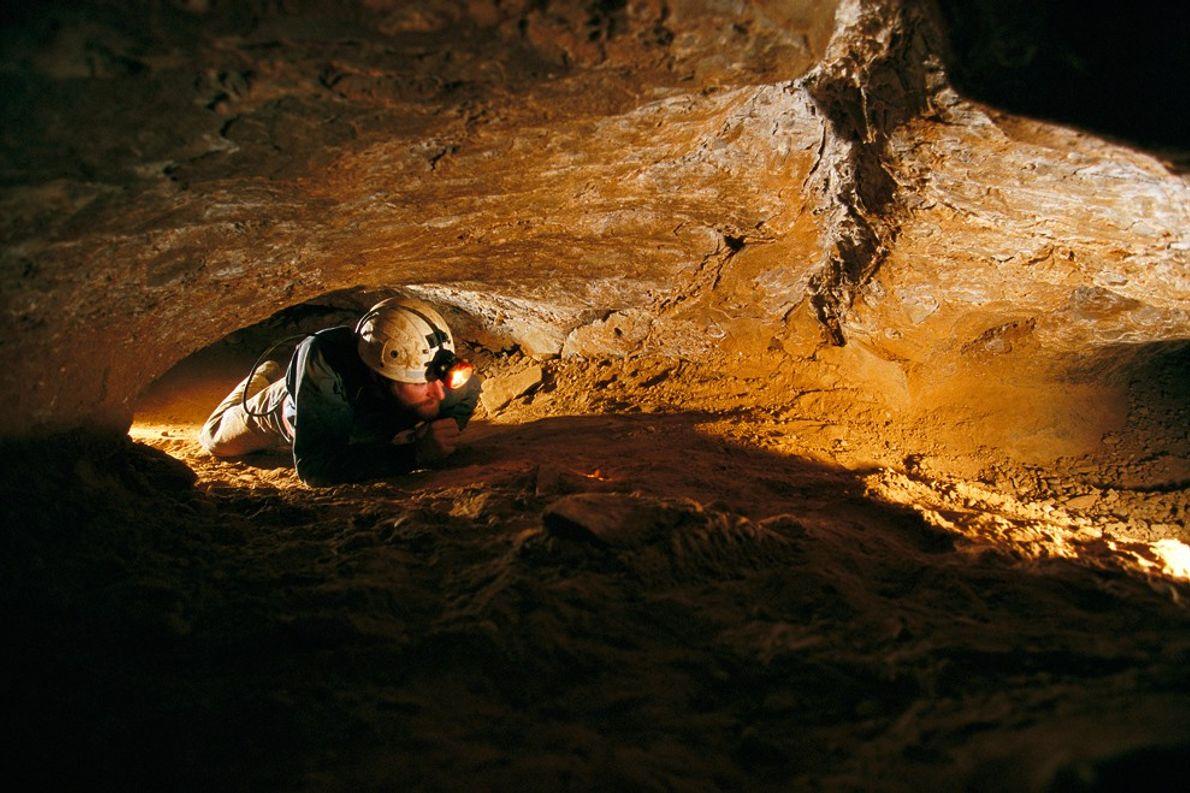 Mammoth Cave est immense, c'est d'ailleurs le plus long réseau de grottes au monde, mais les ...