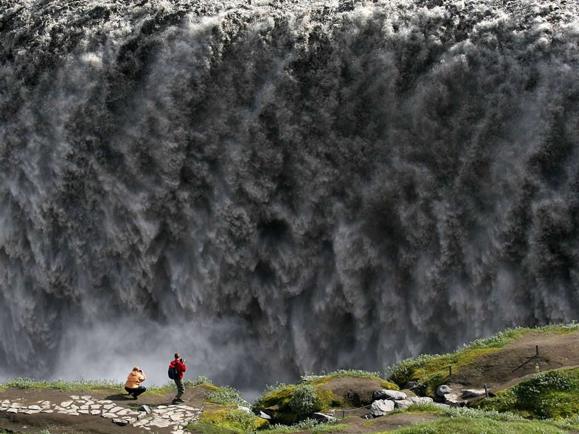 Chute d'eau, Islande