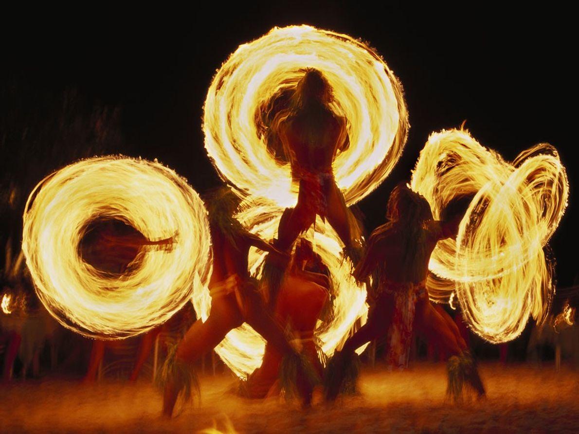 Danse du feu, Bora Bora