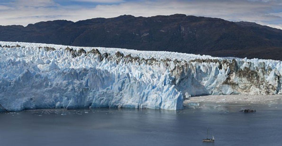 Glacier Pío XI, Patagonie