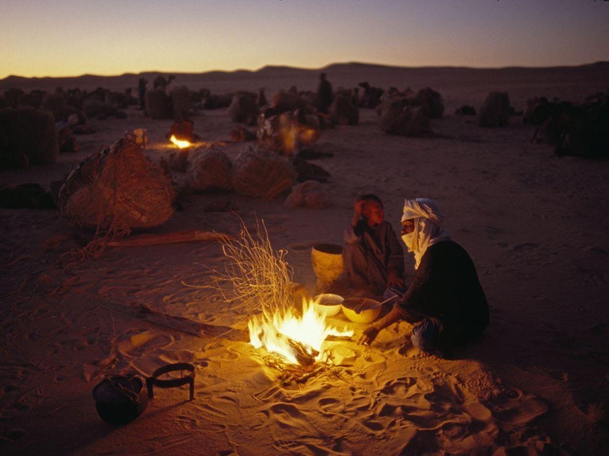 Touareg, Sahara
