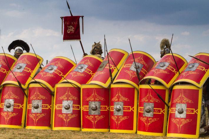 Tactique de protection contre les attaques de cavalerie : Contra Equites / Legion VIII Augusta et Legion ...