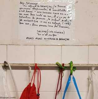 Le refuge solidaire, hébergement associatif dans le centre de la ville de Briançon, créé en juillet ...
