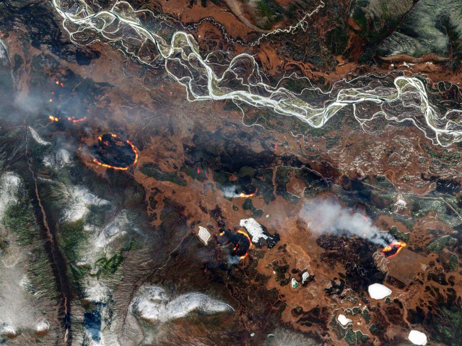 Les feux « zombies » de l'Arctique, conséquences du changement climatique
