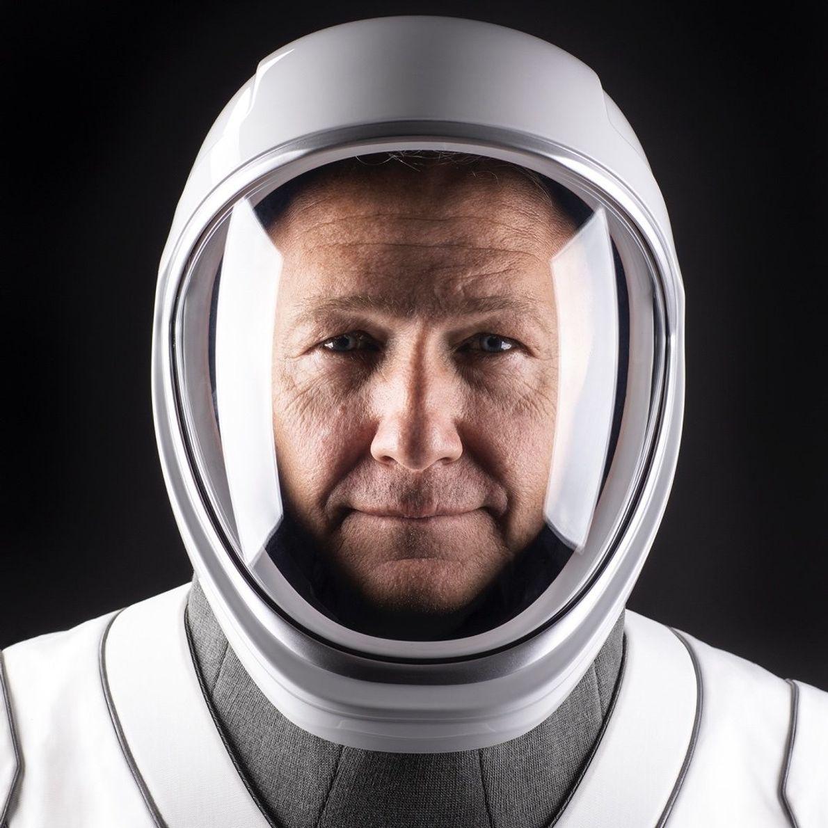 Doug Hurley, commandant du vaisseau spatial de la mission Demo-2 vers la Station spatiale internationale.