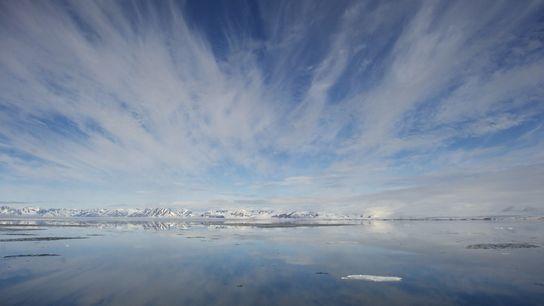 Eaux paisibles, Svalbard