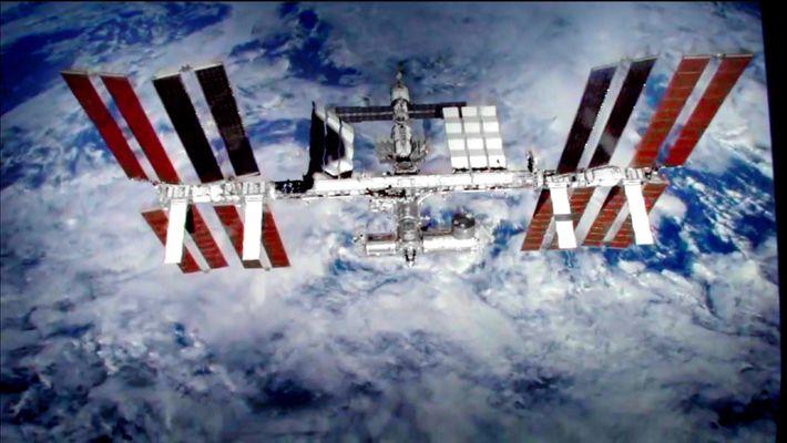 La station spatiale internationale en images