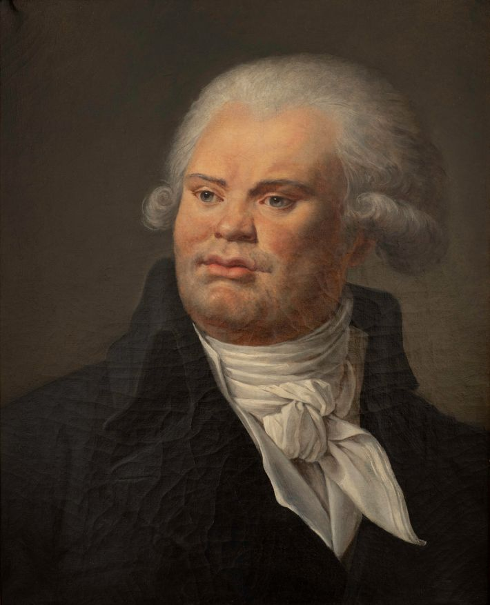 Portrait de Georges Danton (1759-1794), orateur et homme politique. Musée Carnavalet, Paris.