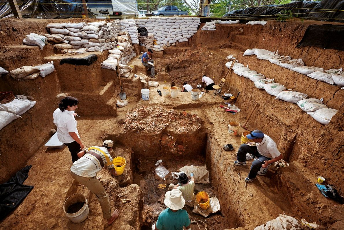Exhumer la sépulture d'un chef