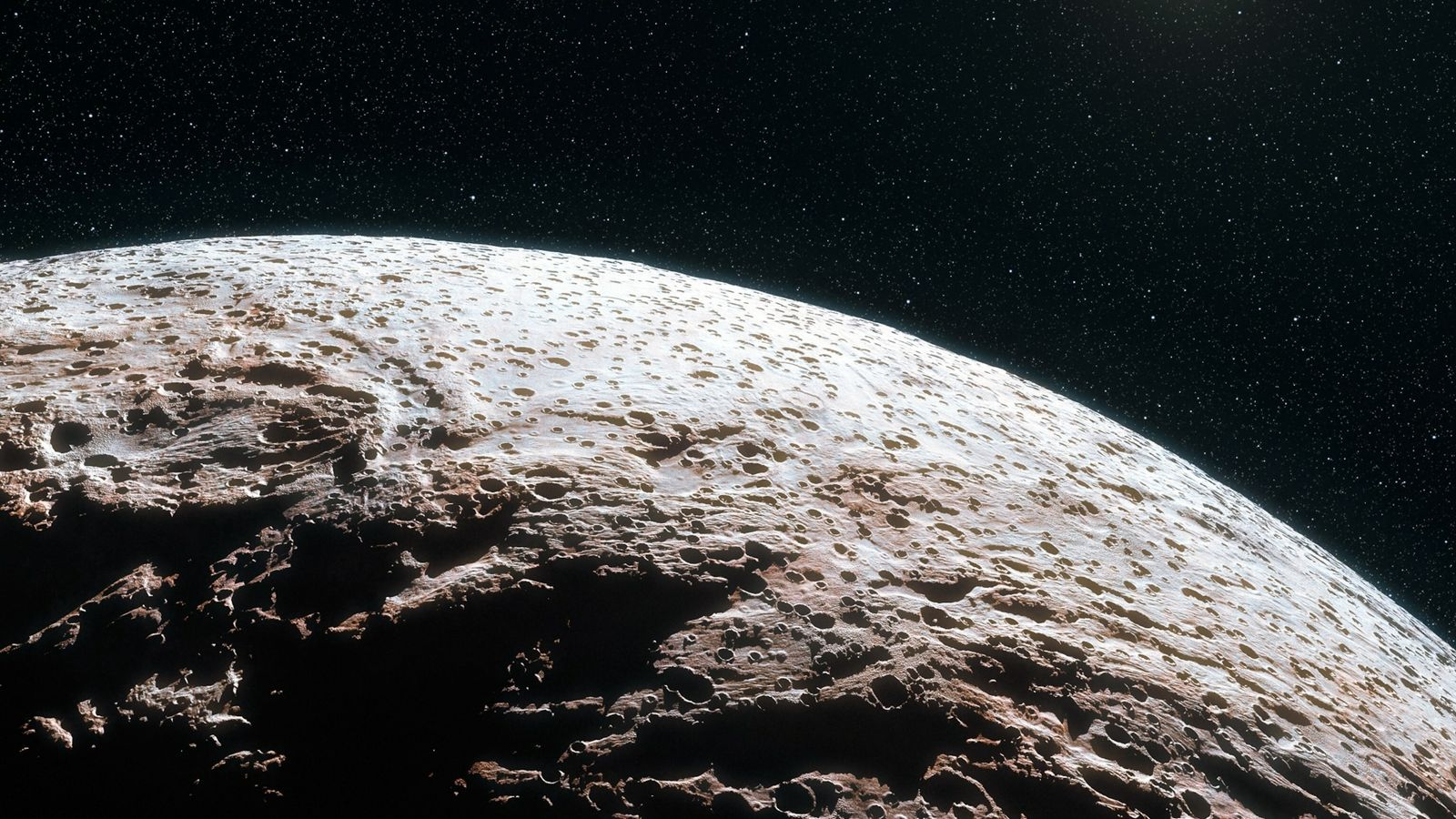 dwarf planet with no atmosphere makemake