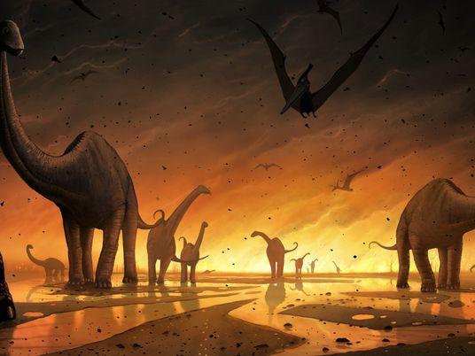 Dinosaures : nouvelles théories sur la cause de leur extinction