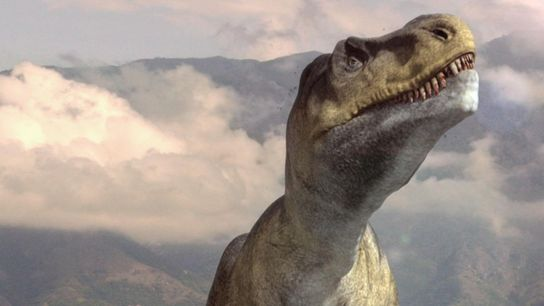 """Image extraite du documentaire National Geographic """"Autopsie d'un T. Rex""""."""