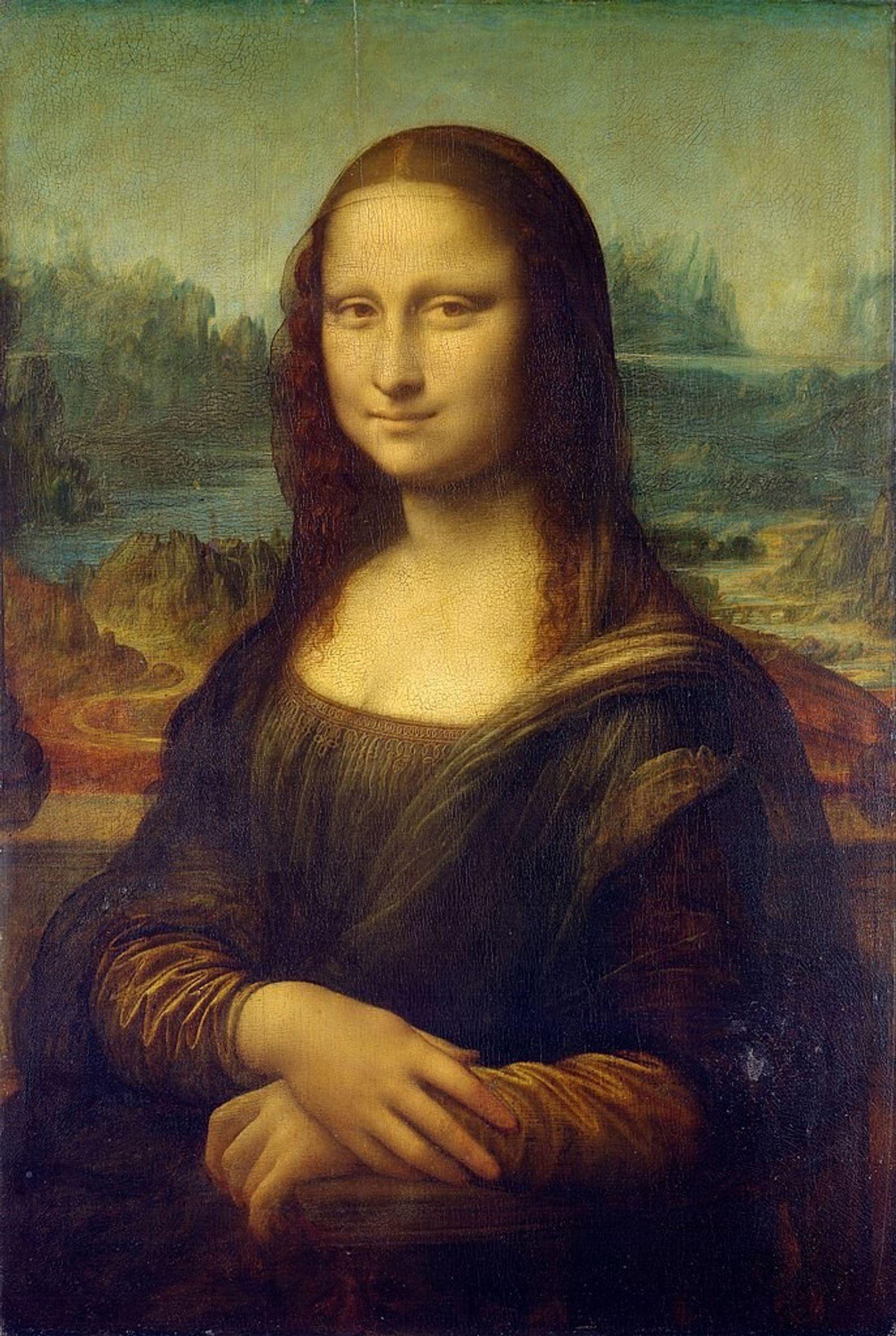 La Joconde, daté entre 1503 et 1506, est sans doute le plus célèbre portrait de Léonard ...