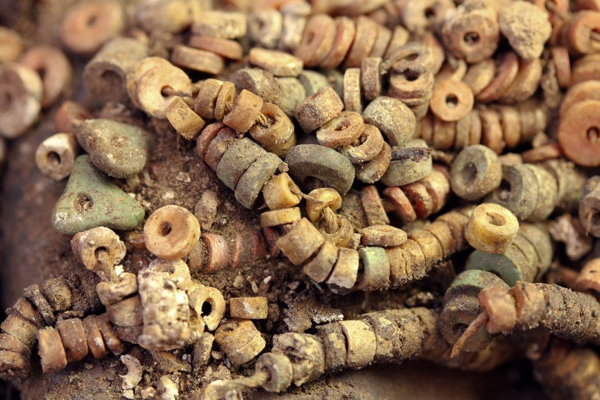 Perles de pierres semi-précieuses