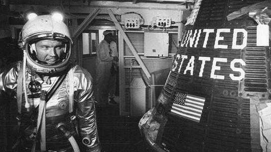 L'astronaute Gordon Cooper, photographié en 1963.