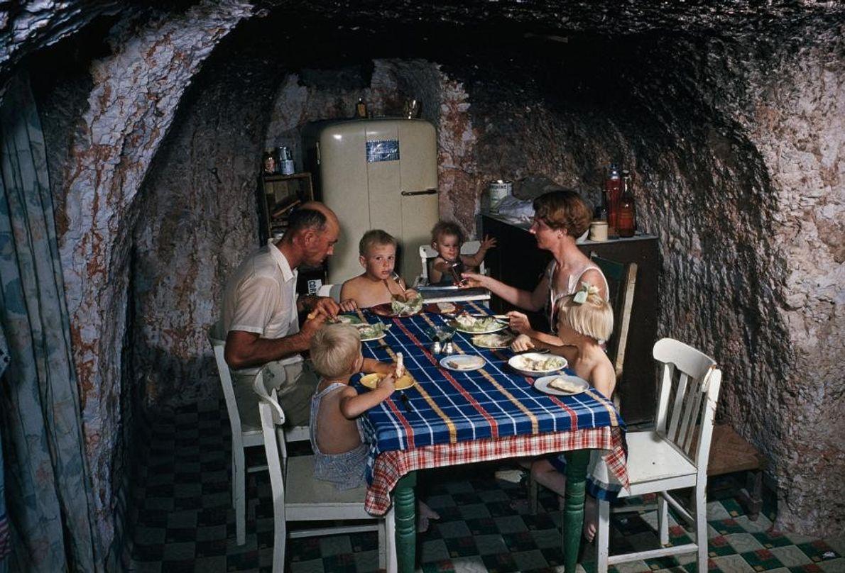 Repas en sous-sol