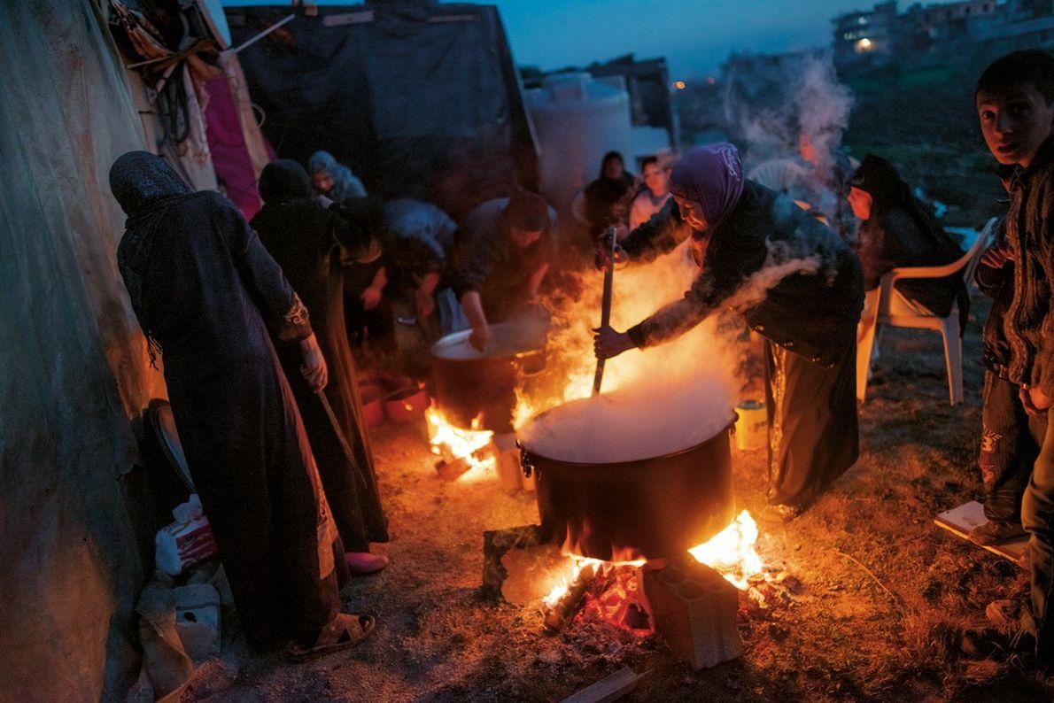 En exil au Liban