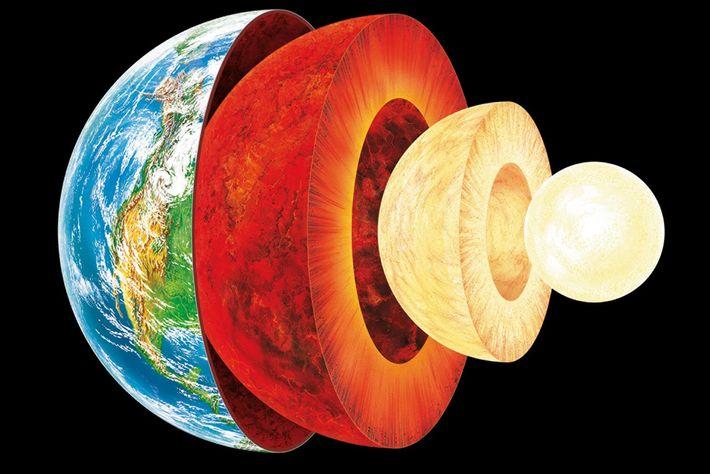 Quelle est la nature du noyau terrestre ?