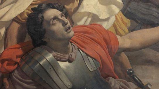 Conversion de Saint Paul sur le Chemin de Damas par Michel-Martin Drolling- Détail - (1850)