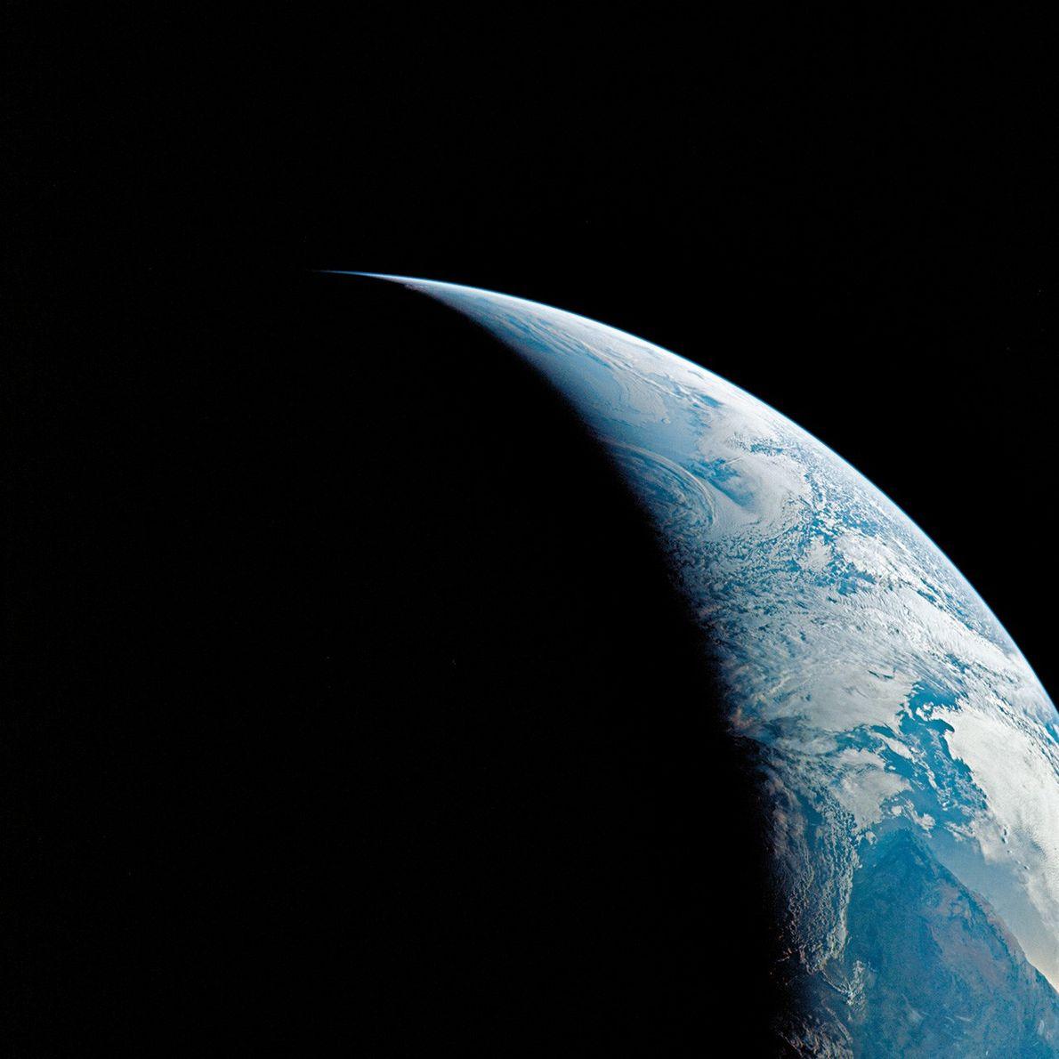 Vue de la planète Terre