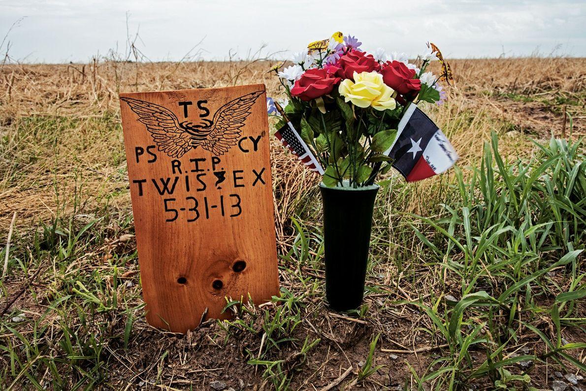 Mémorial pour Tim Samaras et son équipe