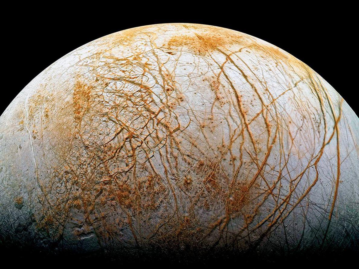 Découverte : Europe, l'une des lunes de Jupiter, serait recouverte de sel