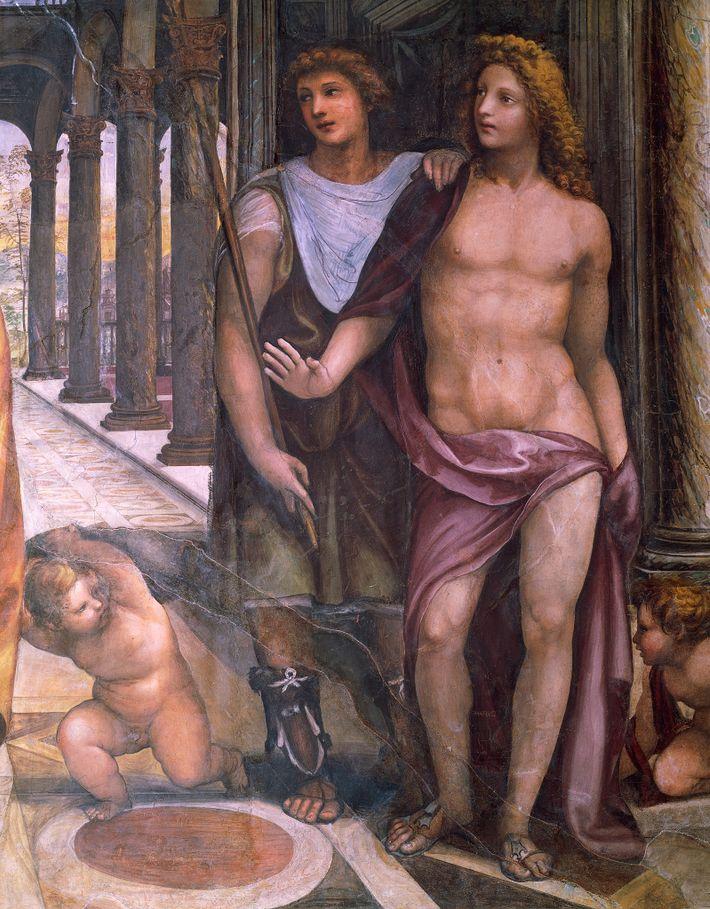D'après certaines hypothèses, l'amant et ami le plus proche d'Alexandre le Grand, Héphestion (représenté ci-dessus sur ...