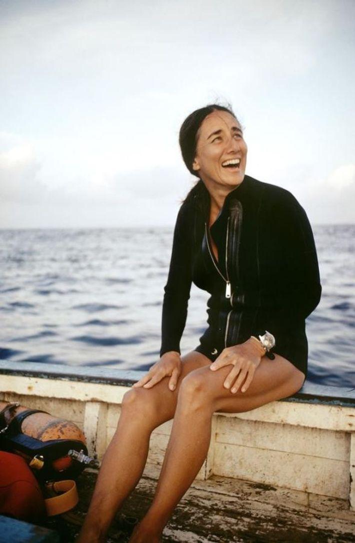 En 1981, Clark est en mission pour National Geographic, à Isla Mujeres, au Mexique.