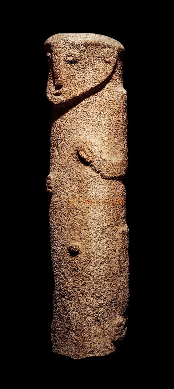 Cette statue se dressait jadis sur la grand place d'El Cano.