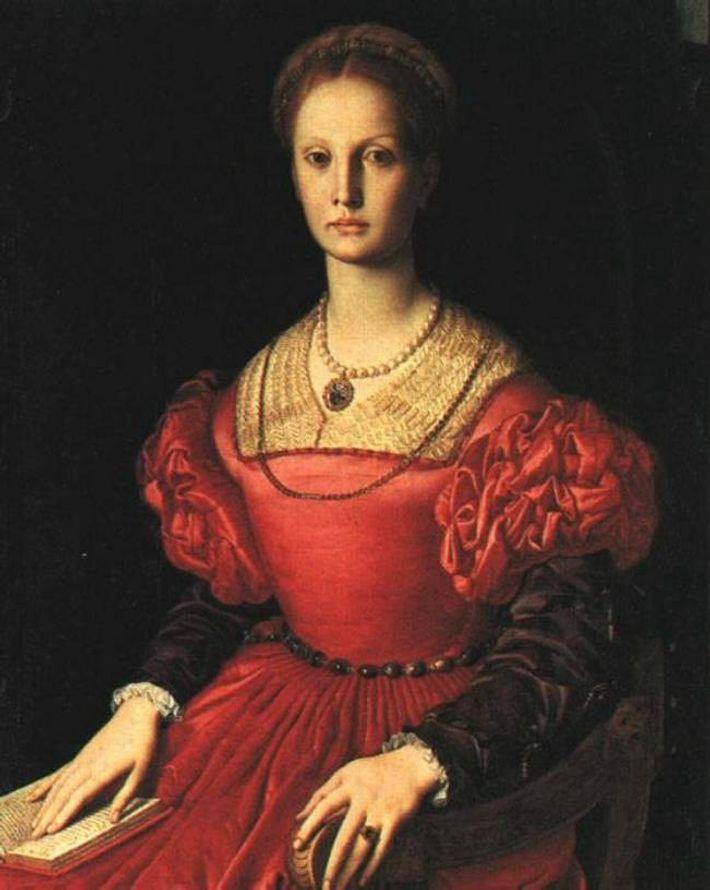 Portrait supposé d'Élisabeth Báthory, la comtesse sanglante.