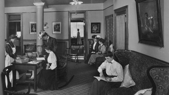 Charities, Y.W.C.A. Building, Margaret Louisa Home.