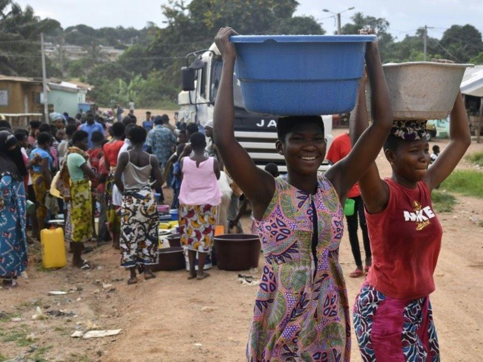 La seconde ville de Côte d'Ivoire fait face à une pénurie d'eau inédite