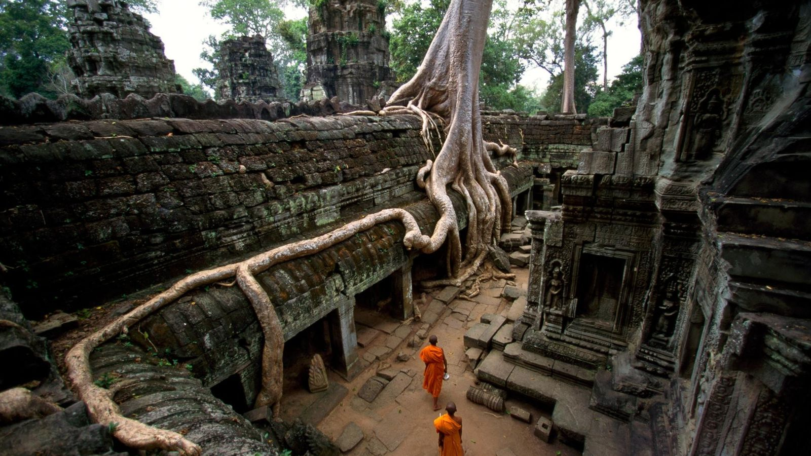 L'ancienne capitale de l'Empire Khmer abrite l'une des architectures les plus remarquables de l'histoire ancienne.