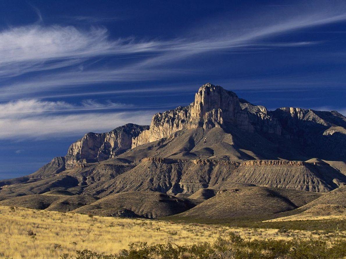 Au Texas, les montagnes Guadalupe abritent l'un des plus grands récifs fossiles apparents au monde, un ...