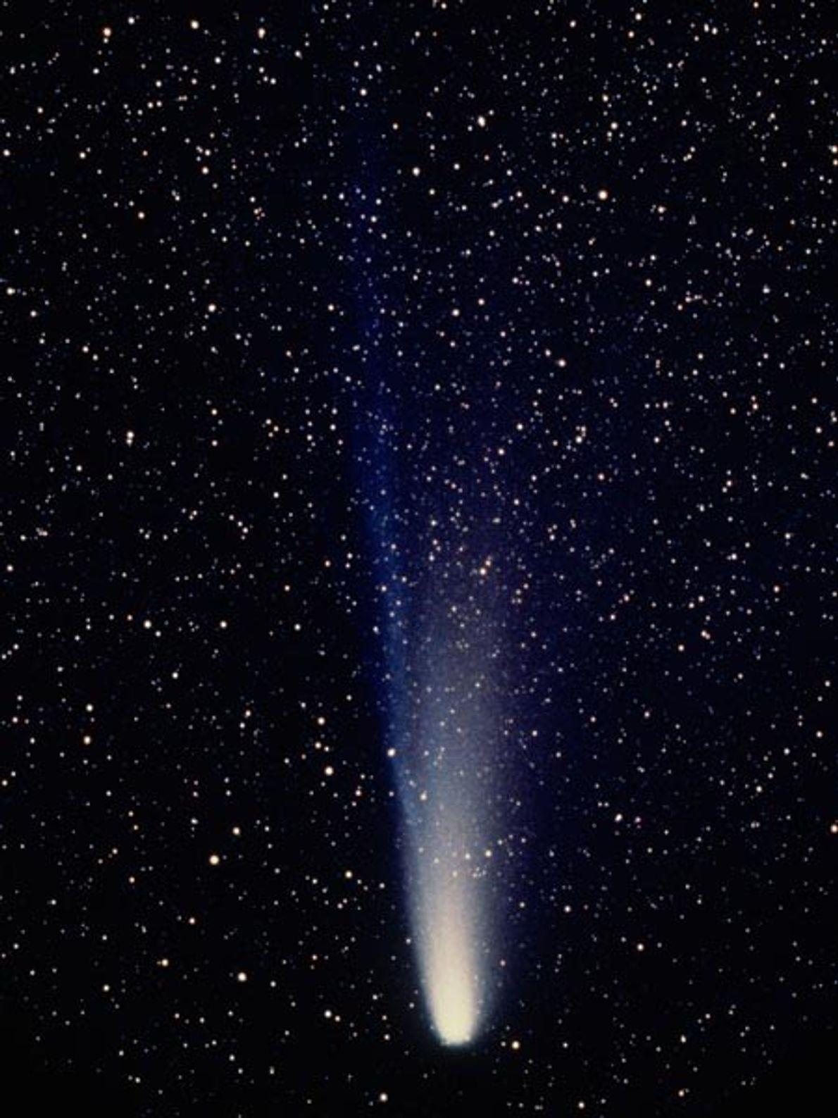 Parmi les milliers de comètes connues dans le système solaire, la comète de Halley est l'une ...