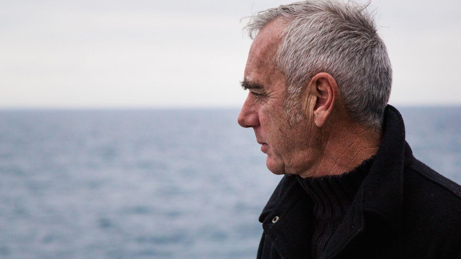 """Loïck Peyron sur le tournage du documentaire """"Amoco Cadiz : la marée noire du siècle"""""""