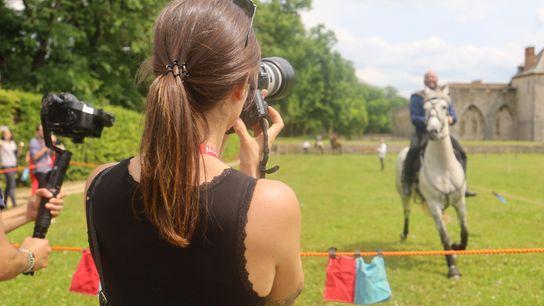 """Photo prise durant l'atelier """"Photographie en mouvement""""."""