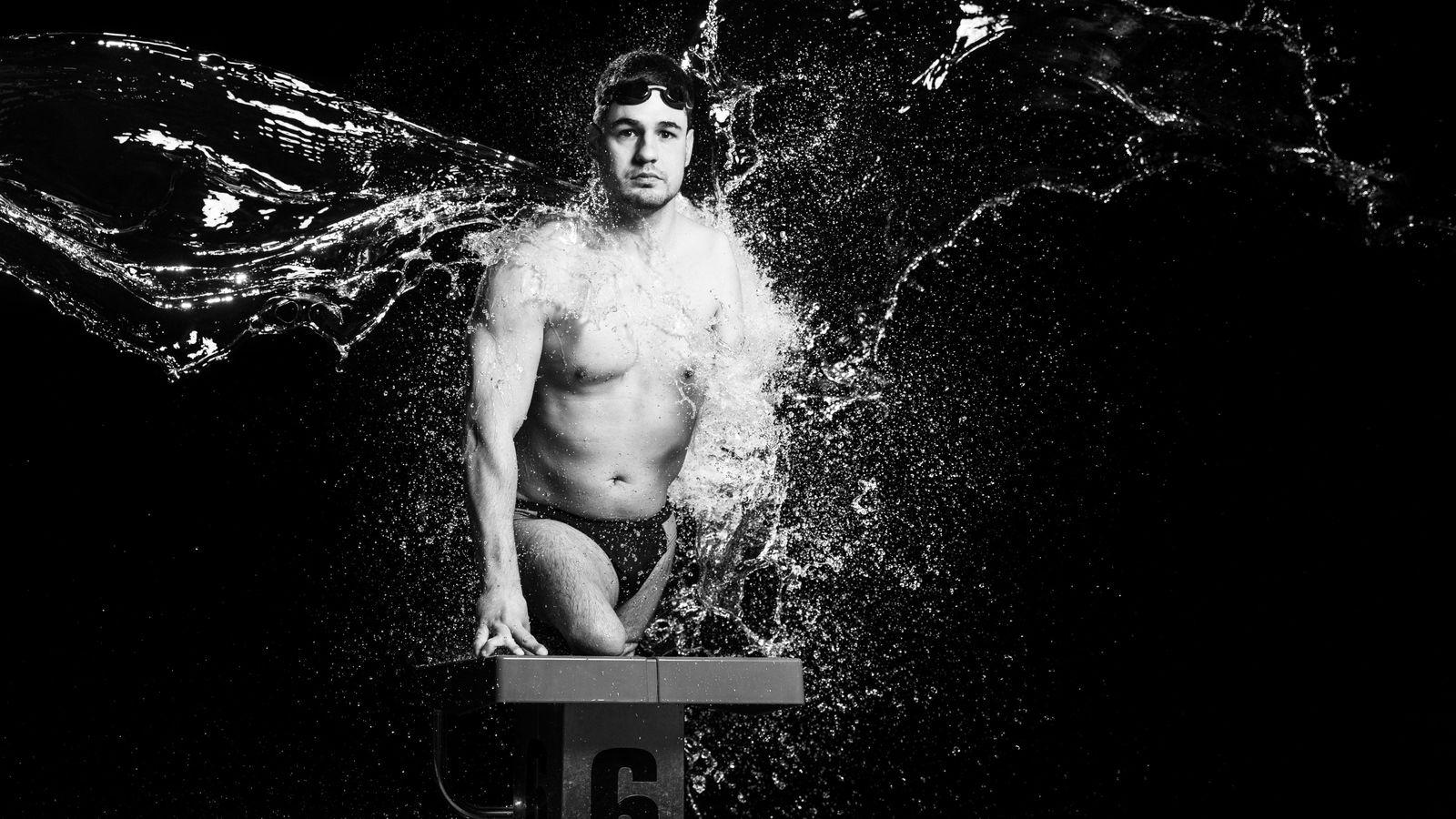 Le nageur slovène Darko Duric est né avec une amputation congénitale. Autrement dit, ses membres ne ...