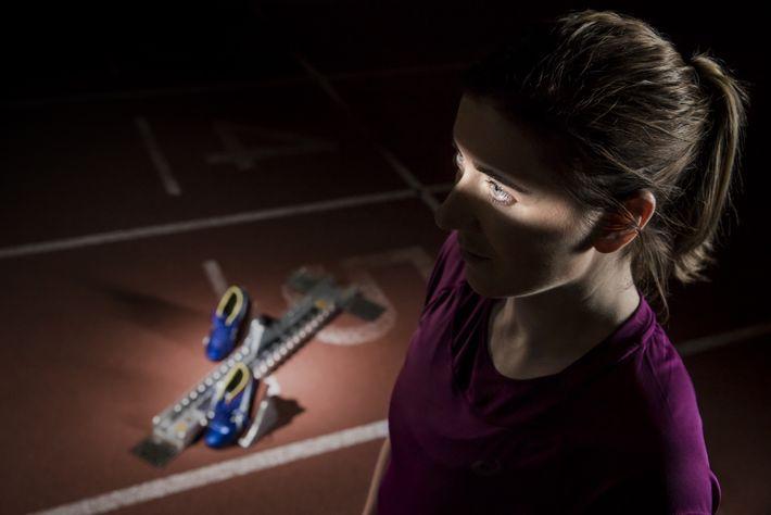 La médaillée d'or paralympique britannique Libby Clegg souffre d'une dystrophie maculaire de Stargardt, une maladie dégénérative ...