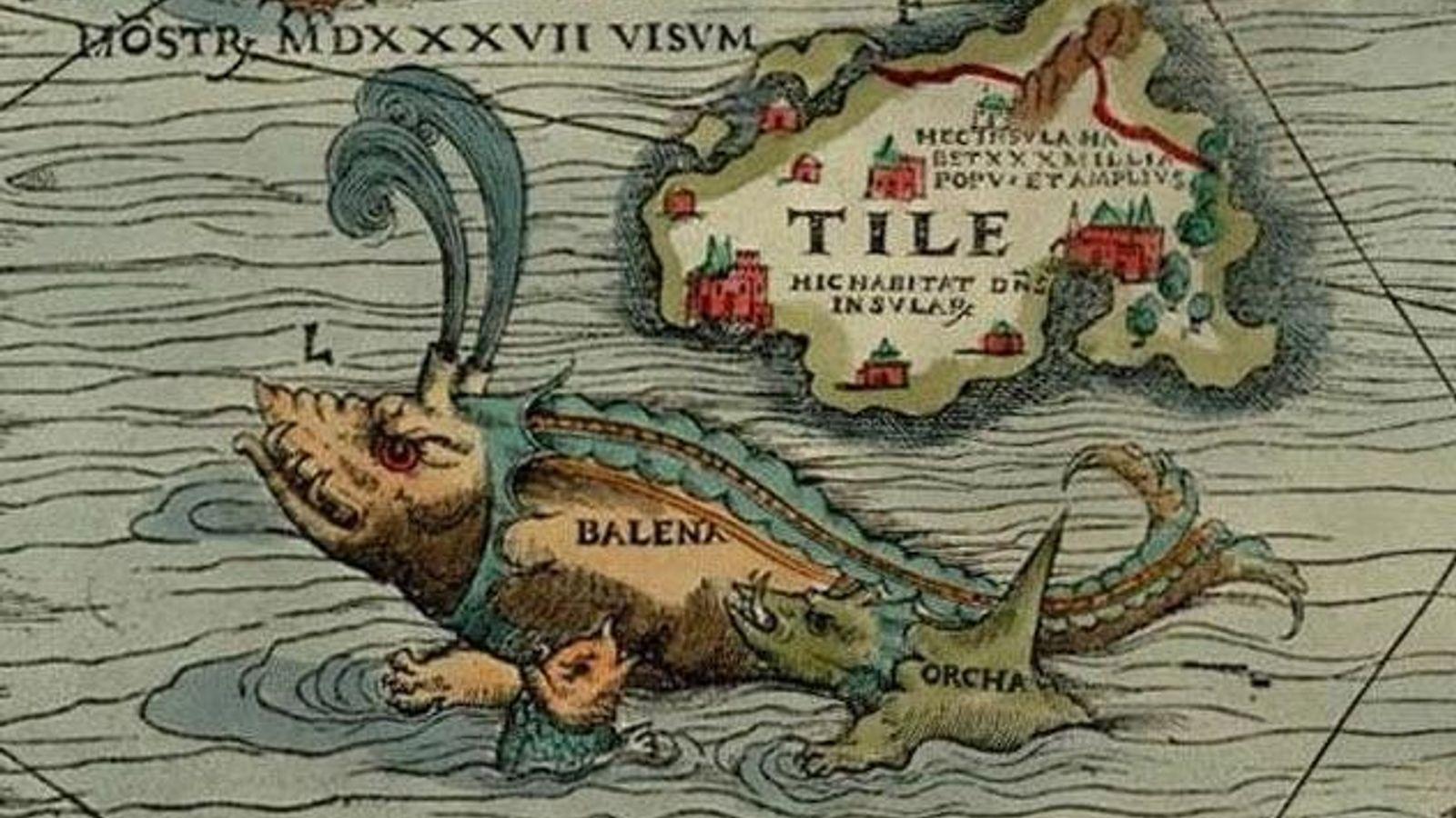Illustration du XIXe siècle d'un texte de Pline l'Ancien, auteur romain du Ier siècle. Il décrit ...