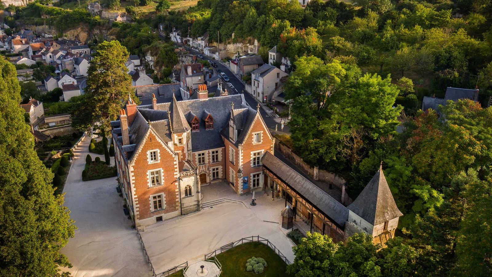 Le château du Clos Lucé à Amboise