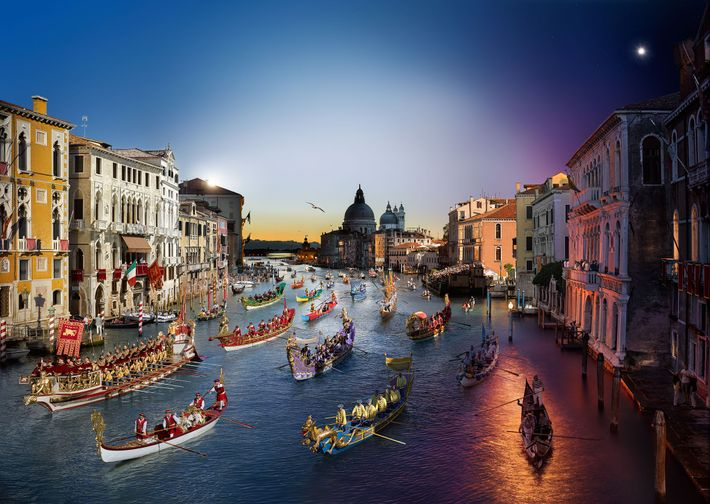 Regata Storica, Venise
