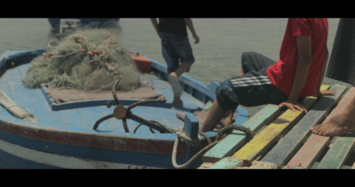 Pêche quotidienne, Djerba, Tunisie, 2018