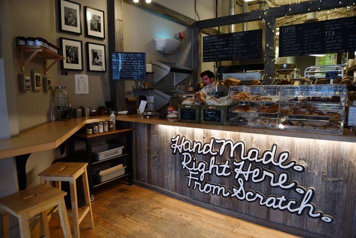La boulangerie artisanale Bread by Us, specialisée dans le pain au levain, fait partie du circuit ...