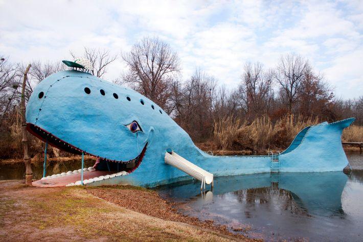 En Oklahoma, la Baleine Bleue de Catoosa est l'une des attractions phares de l'État. C'est aussi ...