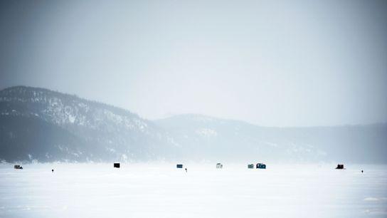 Dans la baie des Ha ! Ha !, à environ 12 km de l'Anse-à-Benjamin (Québec), des ...