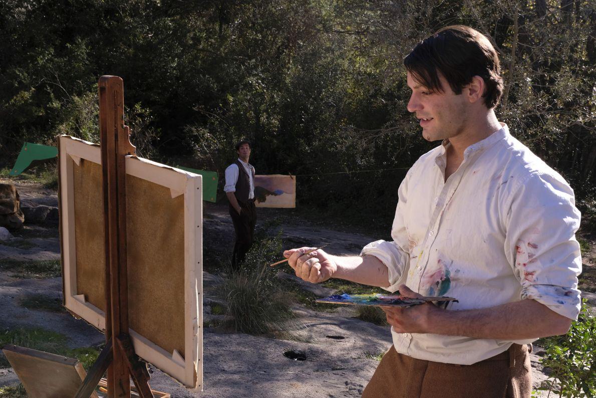 Alex Rich interprète le jeune Pablo Picasso dans la saison 2 de GENIUS.